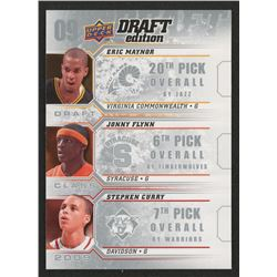 2009-10 Upper Deck Draft Edition Draft Class #DMFC Eric Maynor/Jonny Flynn/Stephen Curry
