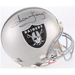 Howie Long Signed Raiders Full-Size Authentic On-Field Helmet (JSA COA)