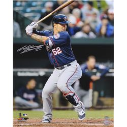 Byung-ho Park Signed Twins 16x20 Photo (Schwartz COA)
