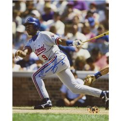 Marquis Grissom Signed Expos 8x10 Photo (MAB Hologram)