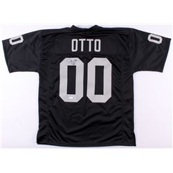 "Jim Otto Signed Raiders Jersey Inscribed ""OO""  ""H.O.F. 1980"" (JSA COA)"