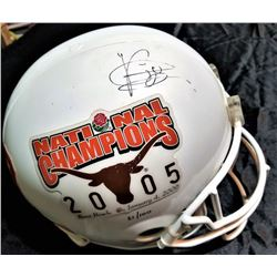 Vince Young Signed Texas Longhorns 2005 Rose Bowl National Champions LE Full-Size Helmet (TriStar LO