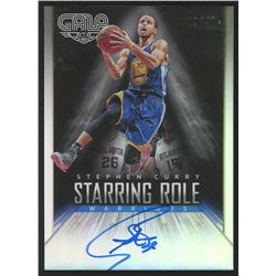 2014-15 Panini Gala Starring Role Signatures #8 Stephen Curry / 40