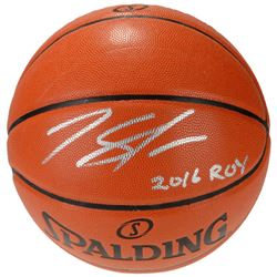 """Karl-Anthony Towns Signed Basketball Inscribed """"2016 ROY"""" (Fanatics Hologram)"""