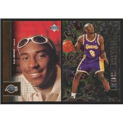 Lot of (2) Kobe Bryan Basketball Cards with 1996-97 Upper Deck #58  1996-97 Metal #181
