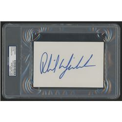 Phil Mickelson Signed 4x6 Cut (PSA Encapsulated)