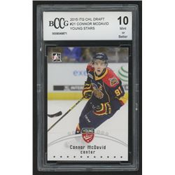 2015 ITG CHL Draft #21 Connor McDavid/Young Stars (BCCG 10)