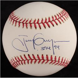 "Tony Gwynn Signed OL Baseball Inscribed "".394 94"" (JSA COA)"