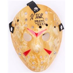 "Kane Hodder Signed ""Friday the 13th"" Mask Inscribed ""Jason 7, 8, 9, X"" (Legends COA)"