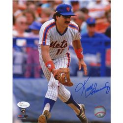 Keith Hernandez Signed Mets 8x10 Photo (JSA COA)