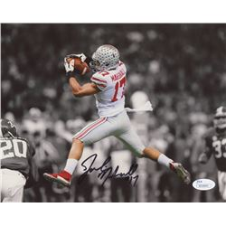 Jalin Marshall Signed Ohio State Buckeyes 8x10 Photo (JSA COA)