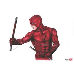 Thang Nguyen - Daredevil 8x12 Signed Limited Edition Giclee on Fine Art Paper #/25