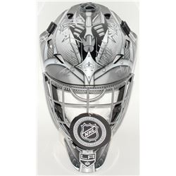 Kings Full-Size Hockey Mask Team-Signed by (18) With Anze Kopitar, Torrey Mitchell, Tyler Toffoli, J