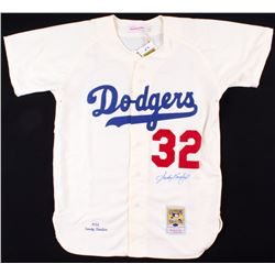 Sandy Koufax Signed Dodgers Cooperstown Collection Jersey (Online Authentic COA)