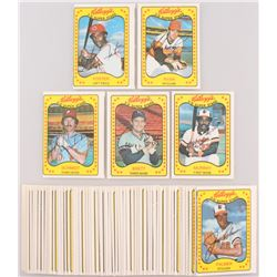 1981 Kellogg's Complete Set of (66) Baseball Cards with #1 George Foster, #6 Nolan Ryan, #5 Mike Sch