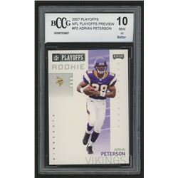 2007 Playoffs NFL Playoffs Preview #P2 Adrian Peterson (BCCG 10)