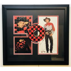 "Garth Brooks Signed ""In Pieces"" 17x18 Custom Framed Photo Display Inscribed ""Love. God Bless"" with C"
