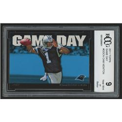 2011 Topps Game Day #GDCN Cam Newton (BCCG 9)