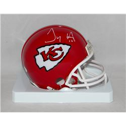 Tyreek Hill Signed Chiefs Mini Helmet (JSA COA)