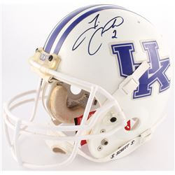Tim Couch Signed Kentucky Wildcats Full-Size Authentic On-Field Helmet (JSA COA)