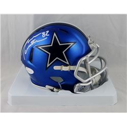 Jason Witten Signed Cowboys Blaze Speed Mini Helmet (JSA COA)