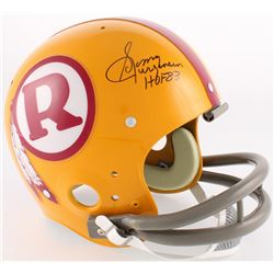 "Sonny Jurgensen Signed Redskins TK Throwback Suspension Full-Size Helmet Inscribed ""HOF 83"" (JSA COA"