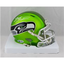 Brian Bosworth Signed Seahawks Blaze Speed Mini Helmet (Beckett COA)