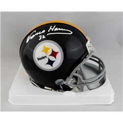 Franco Harris Signed Steelers Mini Helmet (JSA COA)