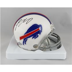 LeSean McCoy Signed Bills Mini Helmet (JSA COA)
