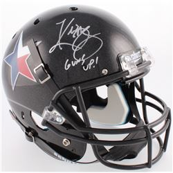 "Kliff Kingsbury Signed Texas Tech Red Raiders Full-Size Helmet Inscribed ""Guns Up!"" (JSA COA)"