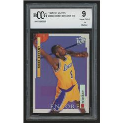 1996-97 Ultra #266 Kobe Bryant RE (BCCG 9)