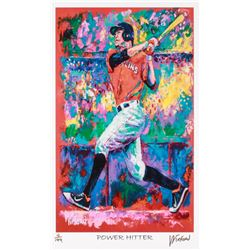 "Giancarlo Stanton Marlins ""Power Hitter"" 11x17 Signed Winford Limited Edition Lithograph #4/199 (Win"