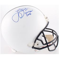 "Larry Johnson Signed Penn State Nittany Lions Full-Size Helmet Inscribed ""2087 YDS 2002"" (Creative S"