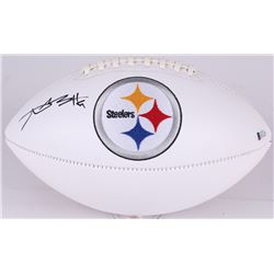Antonio Brown Signed Steelers Logo Football (Beckett COA)