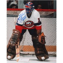 "Glenn ""Chico"" Resch Signed Islanders 8x10 Photo (PA LOA)"