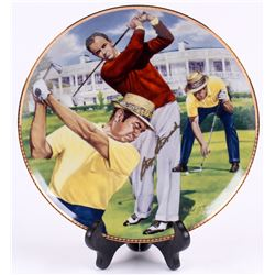 "Sam Snead Signed LE ""Six Decades of Greatness"" Porcelain Plate (Todd COA)"