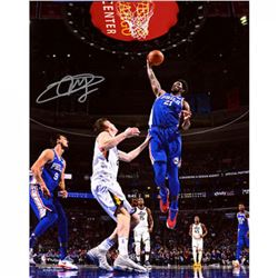 Joel Embiid Signed 76ers 16x20 Photo (Fanatics)