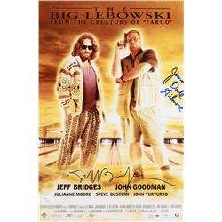 "Jeff Bridges  Jimmie Dale Gilmore Signed ""The Big Lebowski"" 12x18 Photo (JSA COA)"