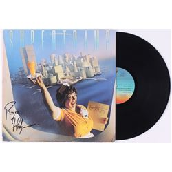 "Roger Hodgson Signed Supertramp ""Breakfast in America"" Vinyl Record Album (JSA COA)"
