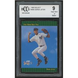 1993 Select #360 Derek Jeter RC (BCCG 9)