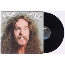 "Ted Nugent Signed ""Cat Scratch Fever"" Vinyl Record Album (JSA COA)"