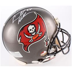 Cadillac Williams Signed Buccaneers Authentic On-Field Full-Size Helmet (Creative Sports Hologram)