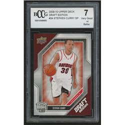 2009-10 Upper Deck Draft Edition #34 Stephen Curry SP (BCCG 7)