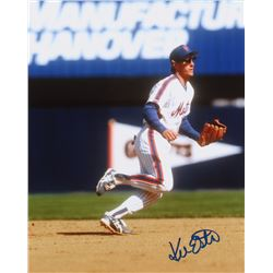 Kevin Elster Signed Mets 8x10 Photo (PA LOA)