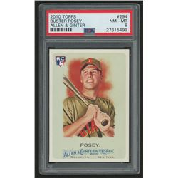 2010 Topps Allen and Ginter #294 Buster Posey RC (PSA 8)