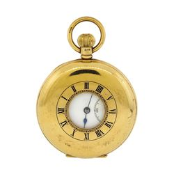 Antique Pocket Watch - 14KT Yellow Gold