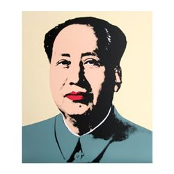 Mao Yellow by Warhol, Andy