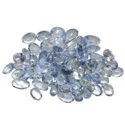 13.1 ctw Oval Mixed Tanzanite Parcel