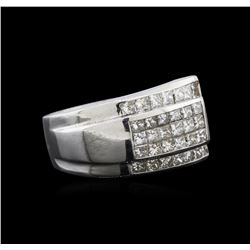 1.72 ctw Diamond Ring - 14KT White Gold