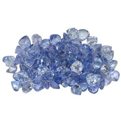 11.33 ctw Round Mixed Tanzanite Parcel